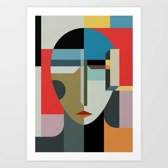 WOMAN OF WHEN Art Print