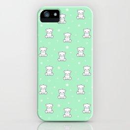 Cute baby bear iPhone Case