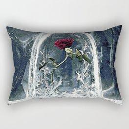 Beauty and the Beast Rose Rectangular Pillow