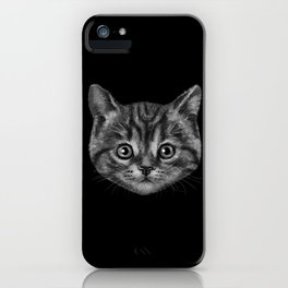 Cat is the New Black iPhone Case