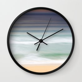 The Beach at Nisabost Wall Clock