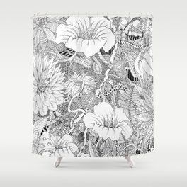 Lost in the Wilderness Shower Curtain