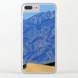 Death Valley Dunes Clear iPhone Case