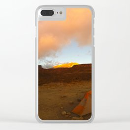 Kilimanjaro 2 Clear iPhone Case