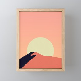 Desert Warmth Framed Mini Art Print
