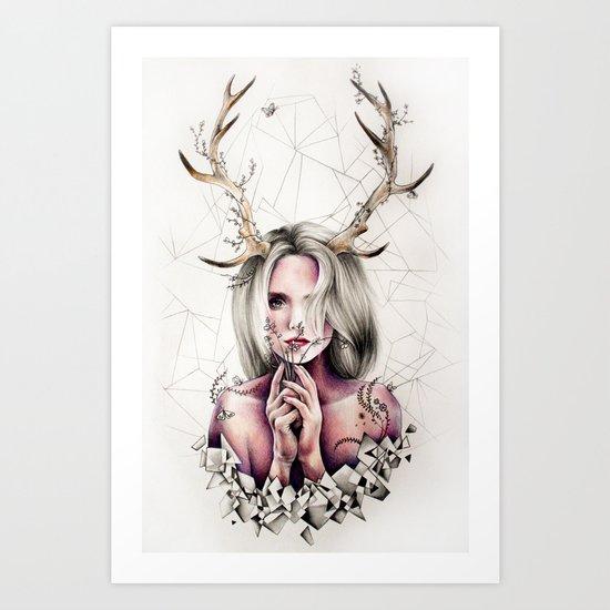 The Antlers  Art Print
