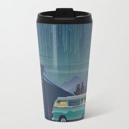 Retro Camping under the stars Travel Mug