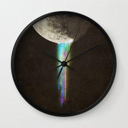 Color Bleed Wall Clock
