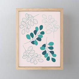 Eucalyptus Fest Framed Mini Art Print