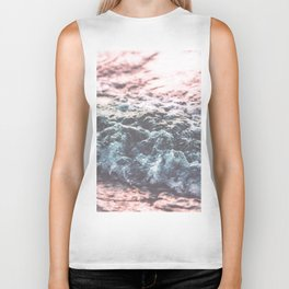 Soft Sea Swash Wave Biker Tank