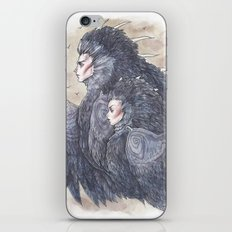We Who Ride the Skies iPhone & iPod Skin
