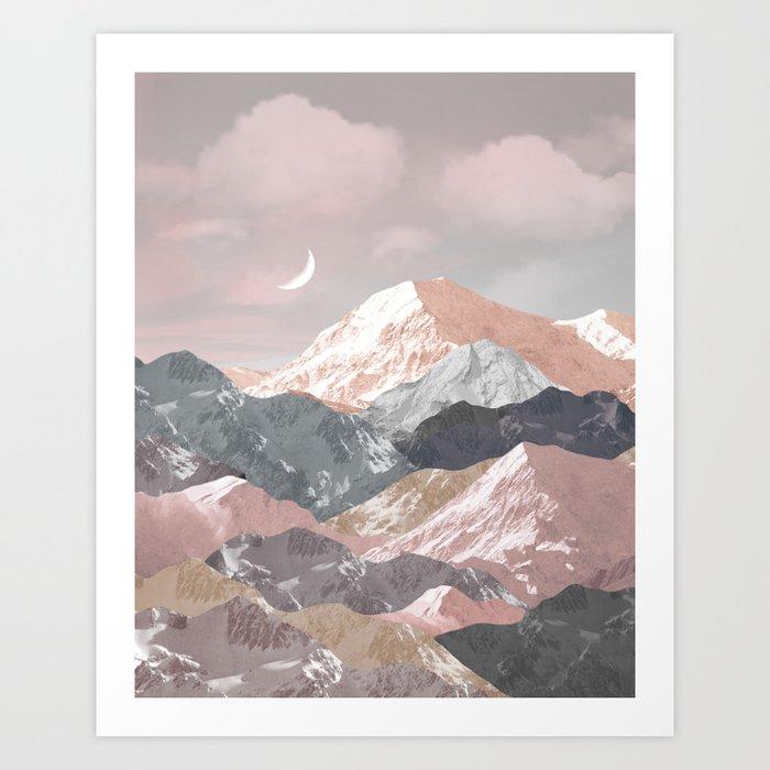 Gentle Tapestry Art Print