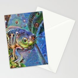 Frog Dream Stationery Cards