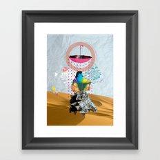 Desert Of Knowledge Framed Art Print