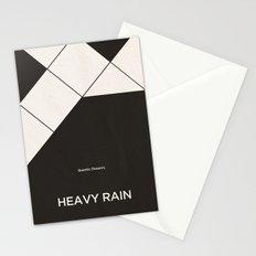 Quantic Dream's Heavy Rain Stationery Cards