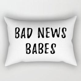 Bad News Babes Rectangular Pillow