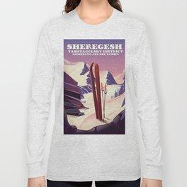 Sheregesh Tashtagolsky District of Kemerovo Oblast, Russia. Long Sleeve T-shirt