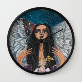 Mother Nature Angel Wall Clock