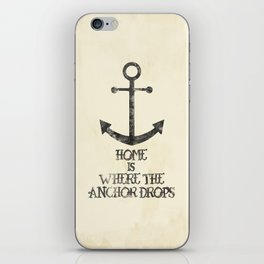 Where The Anchor Drops iPhone Skin