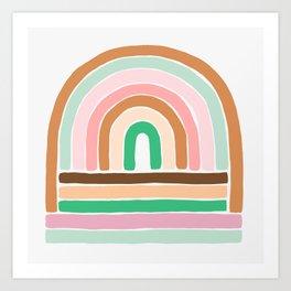 rainbow : original Art Print