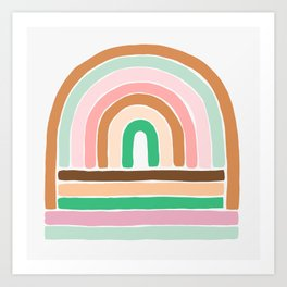 rainbow : original Art Print