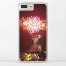 Canada Day. Clear iPhone Case
