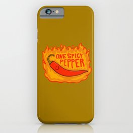 One Spicy Pepper iPhone Case