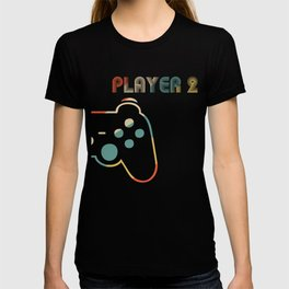 Matching Gamer Couple tee Player 1 Player 2 Shirt T-Shirt T-shirt