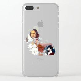 Mona Lisa & Friends Szene Clear iPhone Case