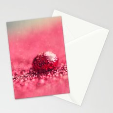Red Drop Stationery Cards