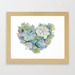 Love Succs Framed Art Print