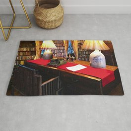 Pearl S Buck Library Rug