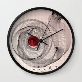 Escape the Comfort Zone Wall Clock