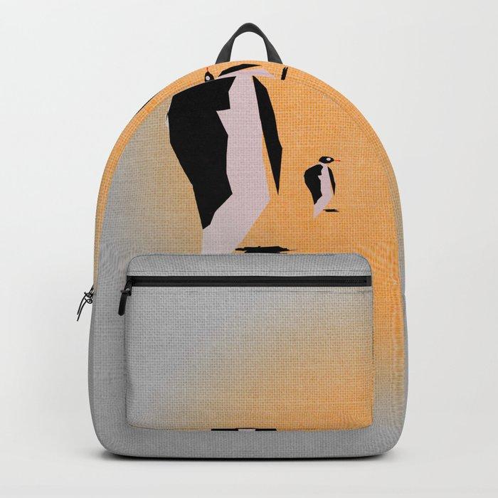 Family of penguins Backpack