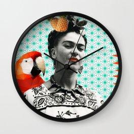 FRIDA COLOR  Wall Clock
