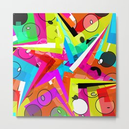 Party star Metal Print