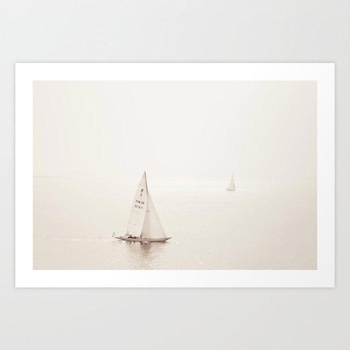 Sailing Seas Art Print