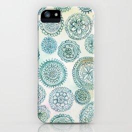circles iPhone Case