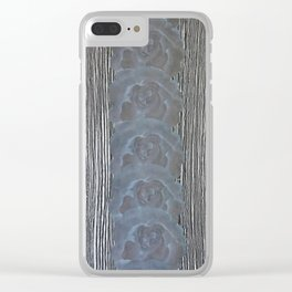 Calico-Black Clear iPhone Case