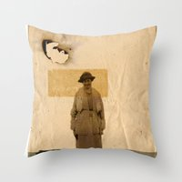 sand Throw Pillows featuring SAND// by Matt McCann