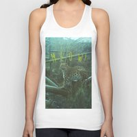 meow Tank Tops featuring MEOW! by LUKE FORSH∆W