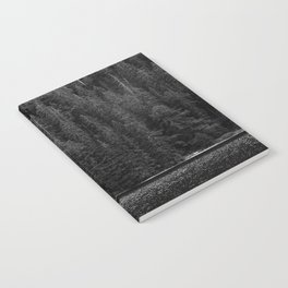 Grayscale Woods Notebook