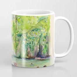 Krause Springs - historic Texas natural springs swimming hole Coffee Mug