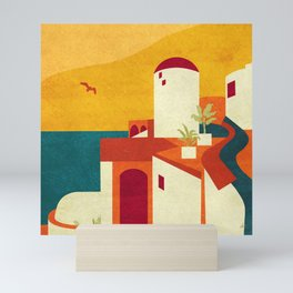 Reimagining Santorini 2 Mini Art Print
