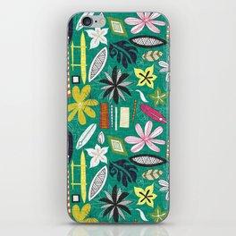 beachy jade iPhone Skin