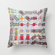 New Plaid Throw Pillow