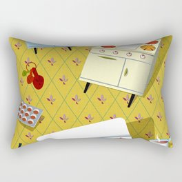 Time to cook! Rectangular Pillow