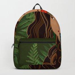 MAIA green bg Backpack
