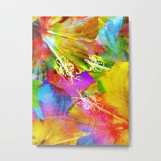 Hibiscus Dream #3 Metal Print