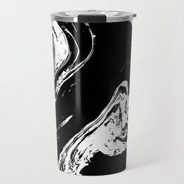 Black liquid ink 7 Travel Mug